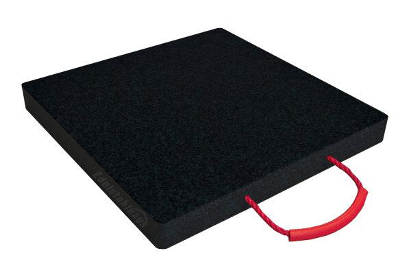 Abstützplatte LAS-30-30-3 cm schwarz, Unterlegplatten, Kranplatten, Kranabstützplatten