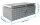 ADE Dachbox Alu Riffelblech 600 x 400 x 300 mm, Staukasten, Staubox, Pickup Box