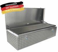 ADE Dachbox Alu Riffelblech 1500 x 600 x 400 mm,...