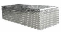 ADE Dachbox Alu Riffelblech 1600 x 600 x 400 mm, Staukasten, Staubox, Pickup Box