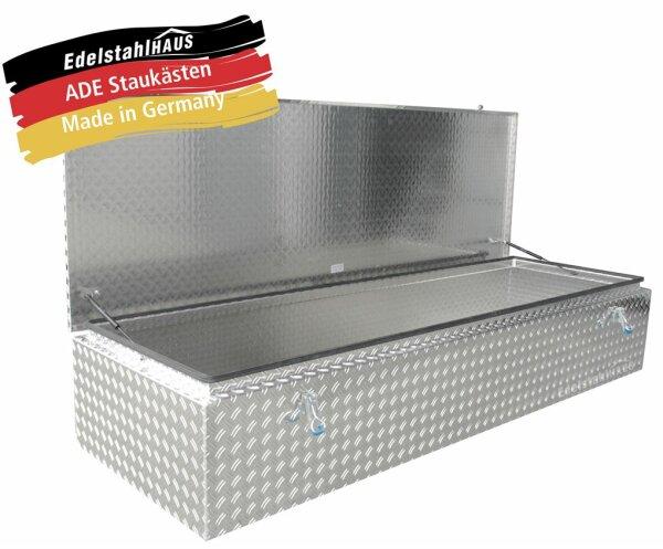 ADE Dachbox Alu Riffelblech 2200 x 700 x 400 mm, Staukasten, Staubox, Pickup Box