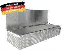 ADE Dachbox Alu Riffelbelch 2400 x 700 x 400 mm,...