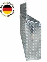 ADE Seitenkasten Alu Riffelblech 1600 x 220 x 500 mm, Staukasten, Staubox, Zubehör Pferdeanhännger