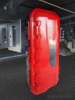 Daken ST6 - Daken Strike, Feuerlöscherkasten, Schutzbox, Schutzkasten, Feuerlöscherschrank, Feuerlöscher Box, Stauboxen, für 6 Kg Feuerlöscher