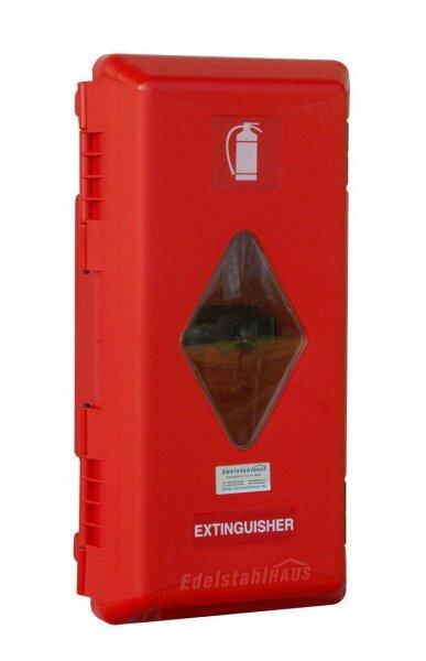 Daken A6 - Daken Adamant, Feuerlöscherkasten, Schutzbox, Schutzkasten, Feuerlöscherschrank, Feuerlöscher Box, Stauboxen, für 6 Kg Feuerlöscher