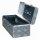 Truckbox D028 Deichselbox, Werkzeugbox, Alu Riffelblech, Alubox, Staukasten, Anhängerkiste - ca. 28 Liter