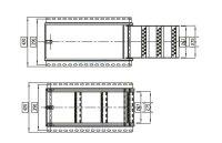 Ausklappbare LKW Trittleiter - TK3-665, Trittstufe Wohnmobil, Einstiegsleiter LKW, LKW Leiter, LKW Einstiegsleiter LKW - Takler
