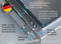 ADE Staukasten, Alu glatt mit Zwischenboden - W1A30N050-60-50Z