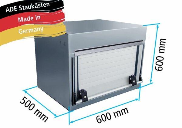 ADE Rollladenkasten Edelstahl 600 x 600 x 500