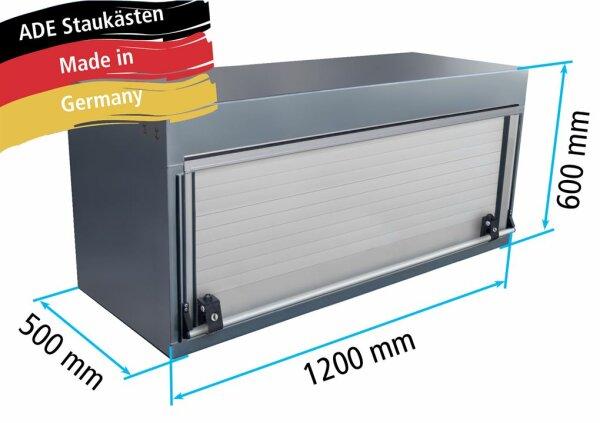 ADE Rollladenkasten Edelstahl 1200 x 600 x 500