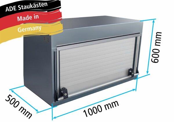 ADE Rollladenkasten Edelstahl 1000 x 600 x 500