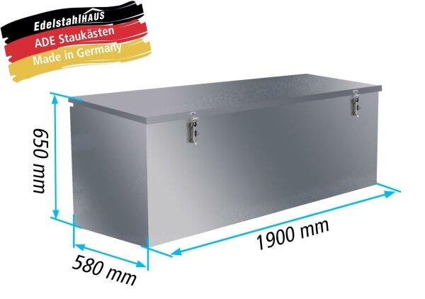 ADE Pritschenkasten / Pritschenbox Typ 1 - 1900x580x650mm P1V15N190-58-65