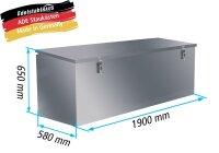 ADE Pritschenkasten / Pritschenbox Typ 1 - 1900x580x650mm...