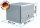 ADE Busdeckelkasten Edelstahl 800 x 600 x 600 mm, Werkzeugkasten, Staukasten, Staubox, Unterflurbox
