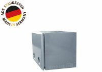 ADE Busdeckelkasten Edelstahl 1200 x 600 x 600 mm, Werkzeugkasten, Staukasten, Staubox, Unterflurbox