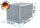 ADE Busdeckelkasten aus Alu Riffelblech 1200 x 500 x 500 mm, Werkzeugkasten, Staukasten, Staubox, Unterflurbox