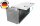 ADE Schubdeckelkasten Alu Riffelblech 1200 x 500 x 500 mm, Werkzeugkasten, Staukasten, Staubox, Unterflurbox