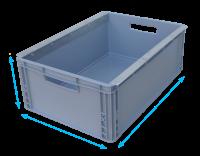 Kunststoffkasten groß 600 x 400 x 220 mm mit...