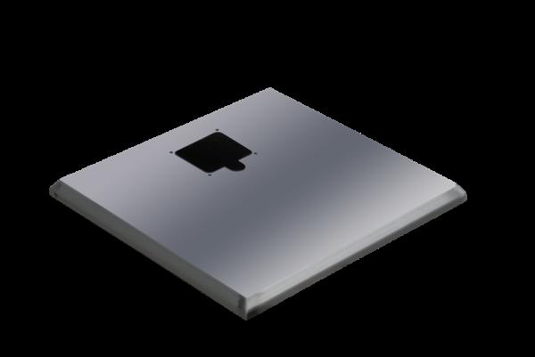 ADE Ersatzdeckel aus Edelstahl 500 x 350 mm