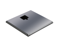 ADE Ersatzdeckel aus Edelstahl 700 x 360 mm