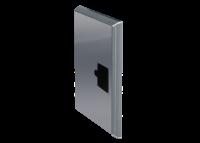 ADE Ersatzdeckel aus Edelstahl 800 x 500 mm
