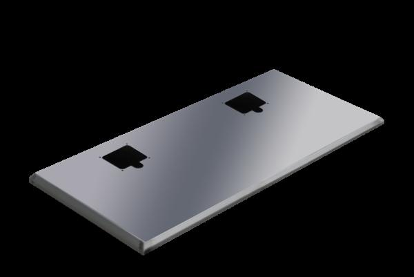 ADE Ersatzdeckel aus Edelstahl 1200 x 500 mm