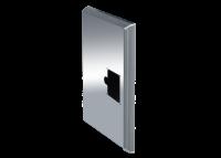 ADE Ersatzdeckel aus Edelstahl poliert 500 x 350 mm