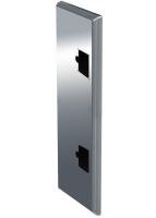 ADE Ersatzdeckel aus Edelstahl poliert 1200 x 500 mm
