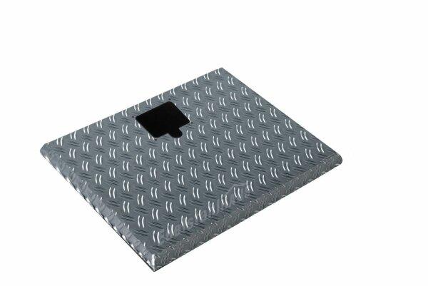 ADE Ersatzdeckel aus Alu Riffelblech 500 x 350 mm