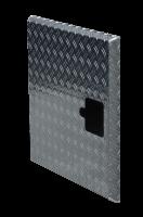 ADE Ersatzdeckel aus Alu Riffelblech 800 x 500 mm