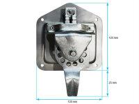 T- Riegelverschluss aus Edelstahl - Abschließbar ESH1003