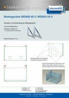 Montagewinkel für Staukasten (2 Stück) -...