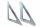 Montagewinkel für Staukasten (2 Stück) - MON54-54-5