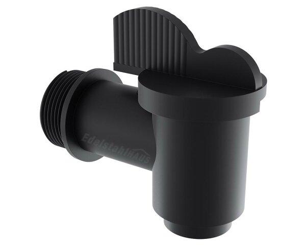 Lokhen ET-Wasser Schwarz - Wasserhahn für Waschwassertank Schwarz