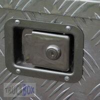 2 x Truckbox Ersatz Verschlusseinheit aus Edelstahl mit Zylinderschloss TB004-2