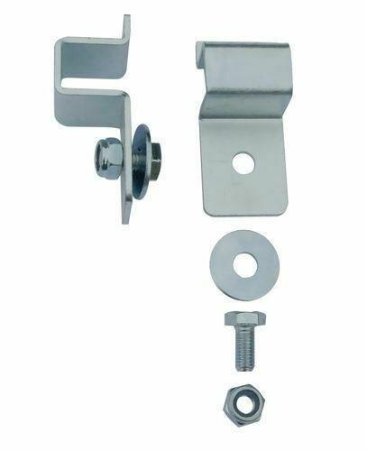 MON1102 - Montagesatz für ADE Deichselbox - 2 Haltewinkel - gekantetes C-Profil