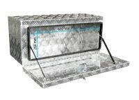 Truckbox U063 Unterflurkasten, Werkzeugkasten, Staukasten, Alu Riffelblech, Anhängerkiste - ca 63 Liter