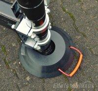Steckplatte SPR-40-8 - LuxTek Performance rund, Kranplatte, Abstützplatte